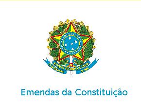 Emendas da Constituição